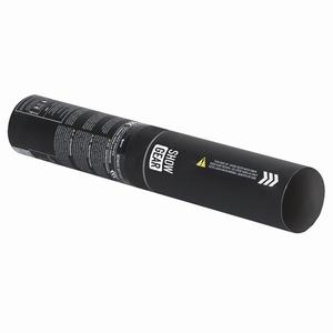 Handmatige Confetti Shooter 28 cm Wit en Zilver