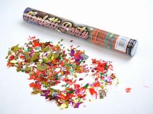 Handmatige Confetti Shooter 40 cm Multicolour
